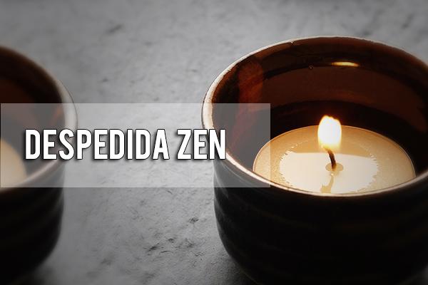 Despedida armónica en centro Zen