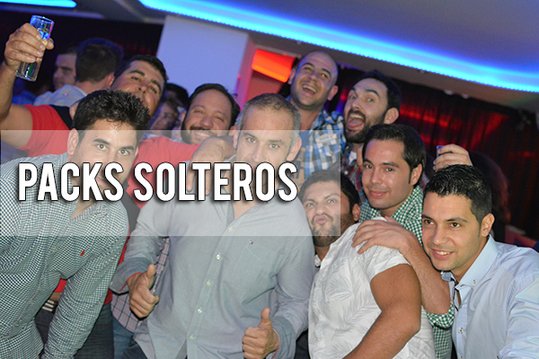 PACKS DESPEDIDA SOLTERO
