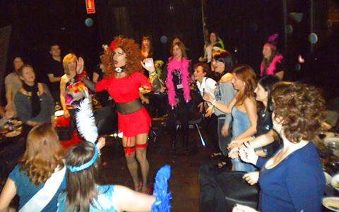 Restaurante centro Murcia Show Drag Queen