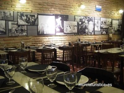 Restaurante estilo rural en Murcia